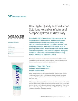 Weaver and Company Case Study