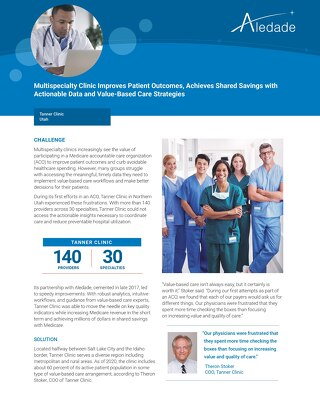 Multispecialty Clinic Improves Patient Outcomes, Achieves Shared Savings with Actionable Data and Value-Based Care Strategies