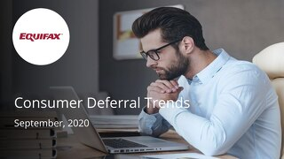 Consumer Deferral Trends for BMO - September 2020