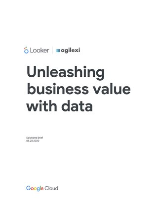 Unleashing business value with data