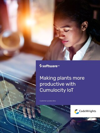 CodeWrights: Making plants more productive with Cumulocity IoT