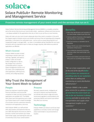 PubSub+ Remote Monitoring and Management Service