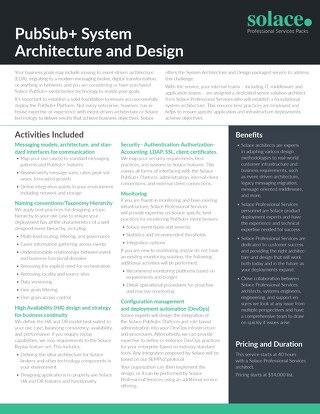 System Architecture & Design | Professional Services