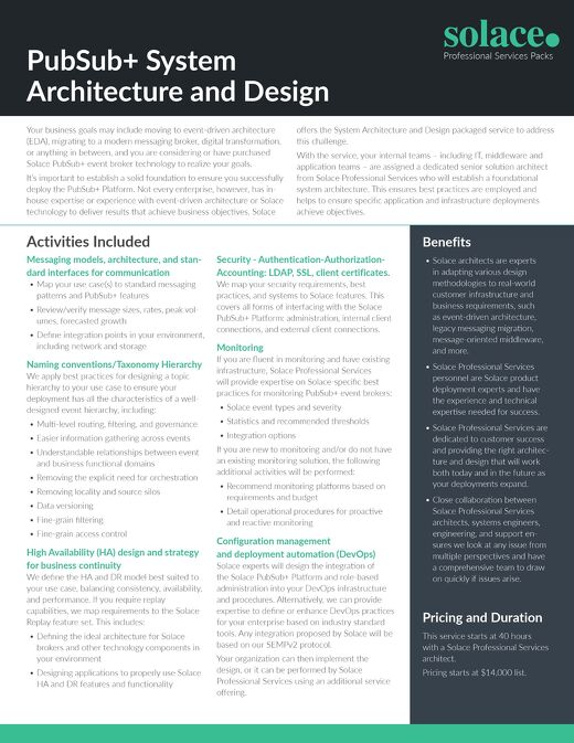 System Architecture & Design | Professional Services