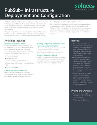Infrastructure Deployment & Configuration | Professional Services
