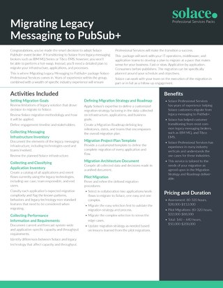 Migrating Legacy Messaging | Professional Services
