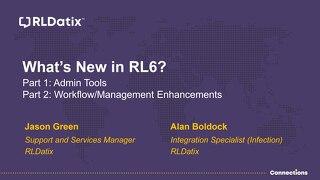 View Presentation: RL6 Tips & Tricks Session
