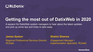 View Presentation: DatixWeb Tips & Tricks Session