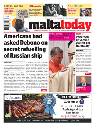 MALTATODAY 29 November 2020