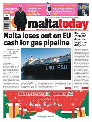 MALTATODAY 3 January 2021