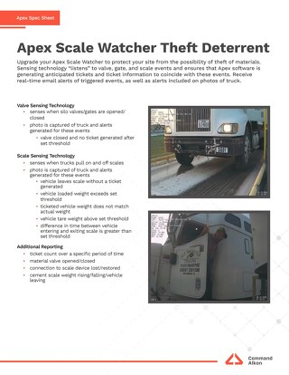 Apex Scale Watcher Theft Deterrent