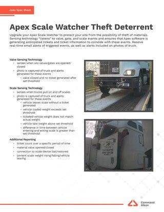 Apex Scale Watcher Theft Deterrent