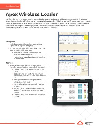 Apex Wireless Loader