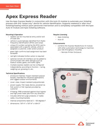 Apex Express Reader