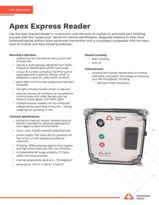 Apex Express Reader