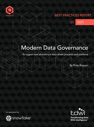 TDWI Best Practices Report: Modern Data Governance