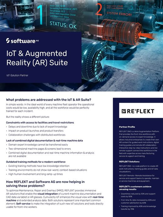 IoT & Augmented Reality (AR) Suite