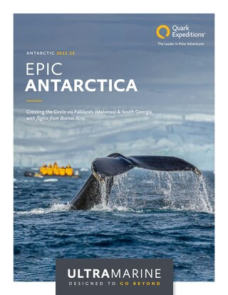 Epic Antarctica: Crossing the Circle via Falklands (Malvinas) & South Georgia with flights from Buenos Aires