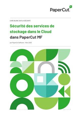 Papercut Cloud-Security Whitepaper en Français