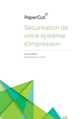 Papercut Security Whitepaper en Français