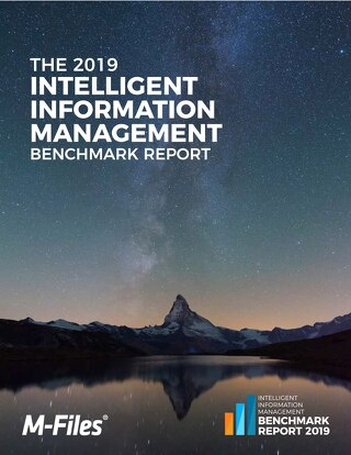 2019 Intelligent Information Management Benchmark