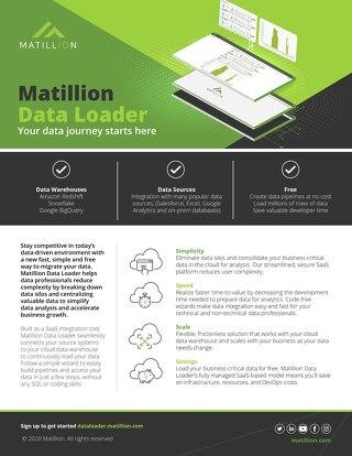 Matillion Data Loader: Data Migration Simplified