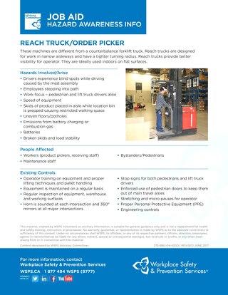 Job Aid - Reach Truck / Order Picker
