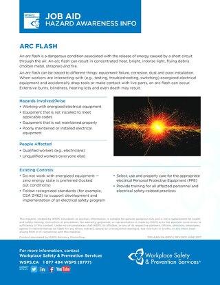 Job Aid - Arc Flash