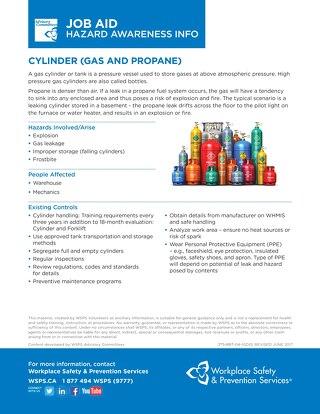 Job Aid - Cylinder