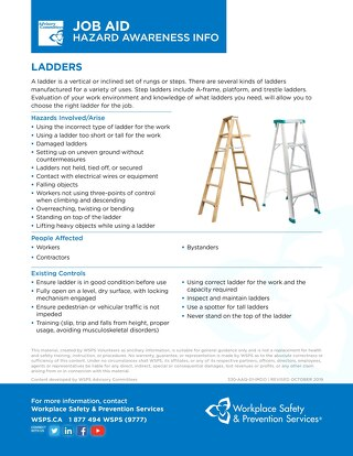 Job Aid - Ladders