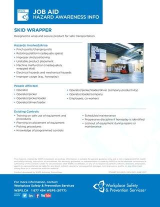 Job Aid - Skid Wrapper
