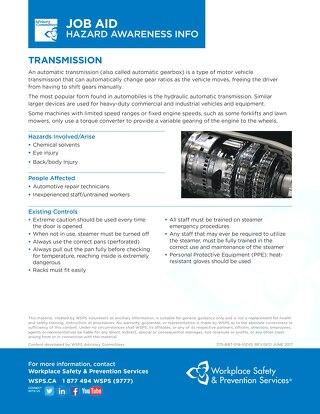 Job Aid - Transmission
