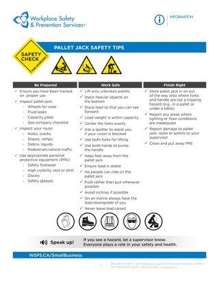Safety Check: Pallet Jack Safety