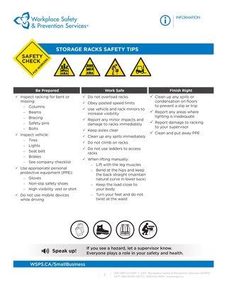 Safety Check: Storage Rack Safety
