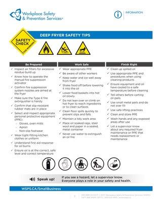 Safety Check: Deep Fryer Safety