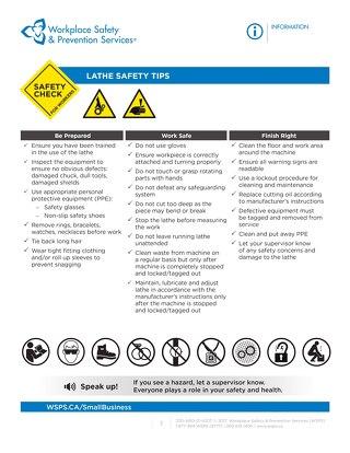 Safety Check: Lathe Safety