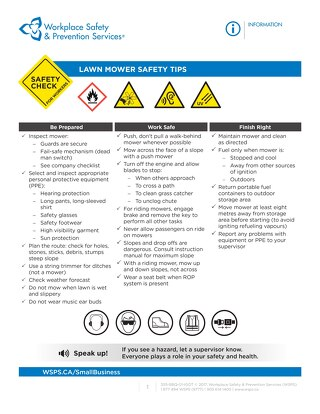 Safety Check: Lawnmower Safety