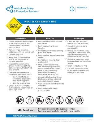 Safety Check: Meat Slicer Safety