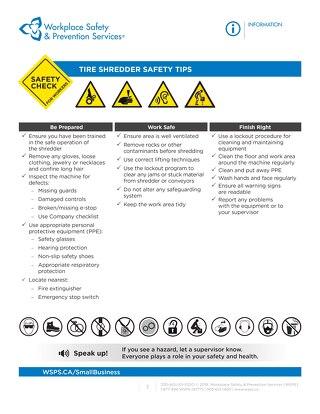 Safety Check: Tire Shredder