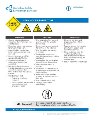 Safety Check: Step Ladder Safety