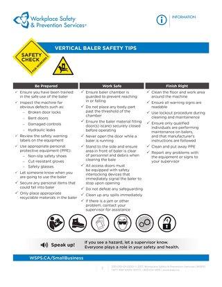 Safety Check: Vertical Baler Safety