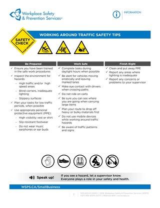 Safety Check: Working Around Traffic