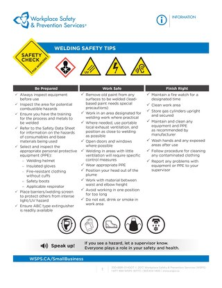 Safety Check: Welding Safety