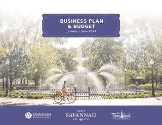 Visit Savannah 2021 Business Plan