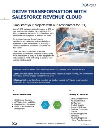 Drive Transformation with Salesforce Revenue Cloud