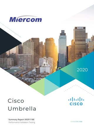 Cisco Umbrella Performance Validation by Miercom Labs
