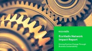 EcoVadis Network Impact Report (englischsprachig)