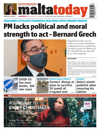 MaltaToday 23 December 2020 MIDWEEK