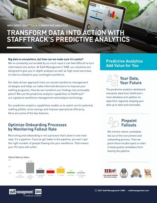 Transform Data Into Action with Stafftrack's Predictive Analytics