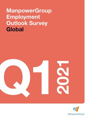 ManpowerGroup Employment Outlook Q1 2021